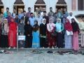 Foto Pesreta Living Quran di depan Masjid Al-Birru Pertiwi