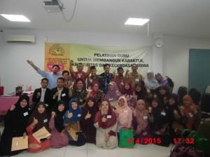 oto Peserta Pelatihan Bersama Dr. Ratna Megawangi dan Dr. Sofyan Djalil