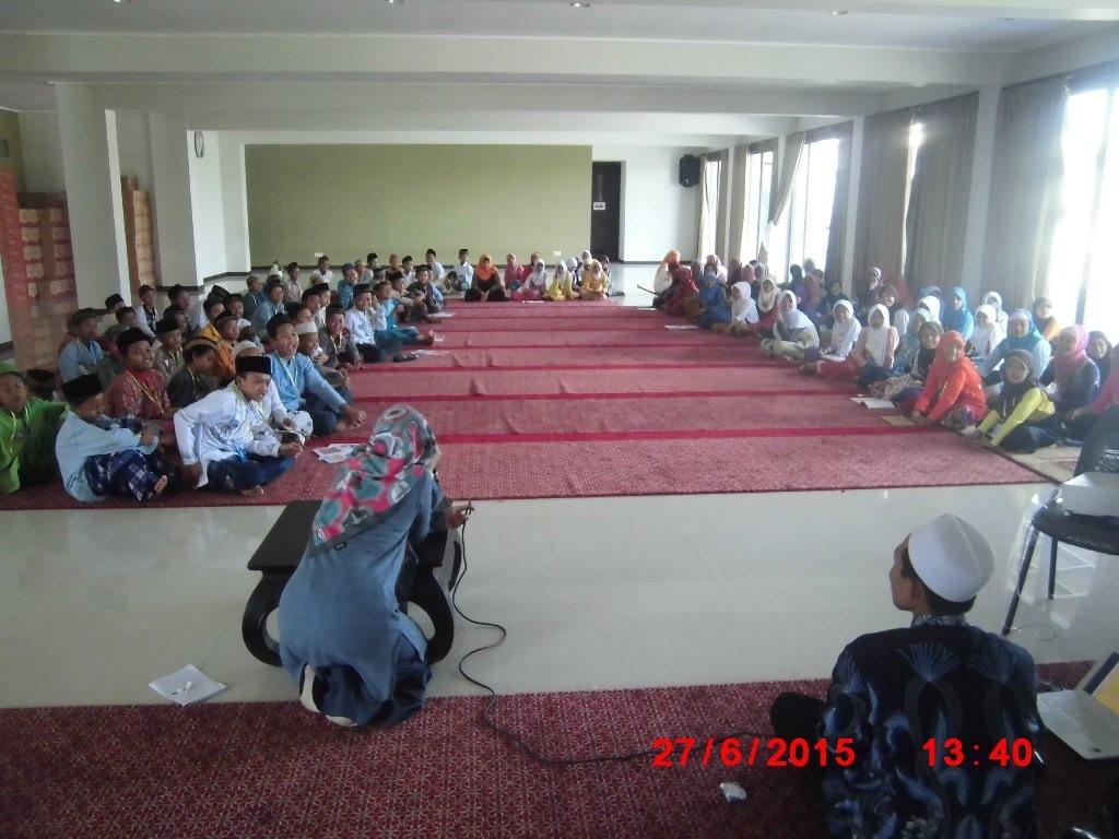 Suasana Wisata Ramadhan Olah Qolbu