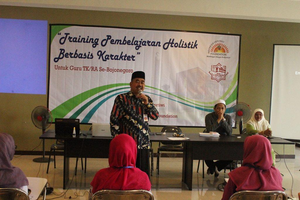 Sambutan Direktur Utama Masjid Al Birru Pertiwi