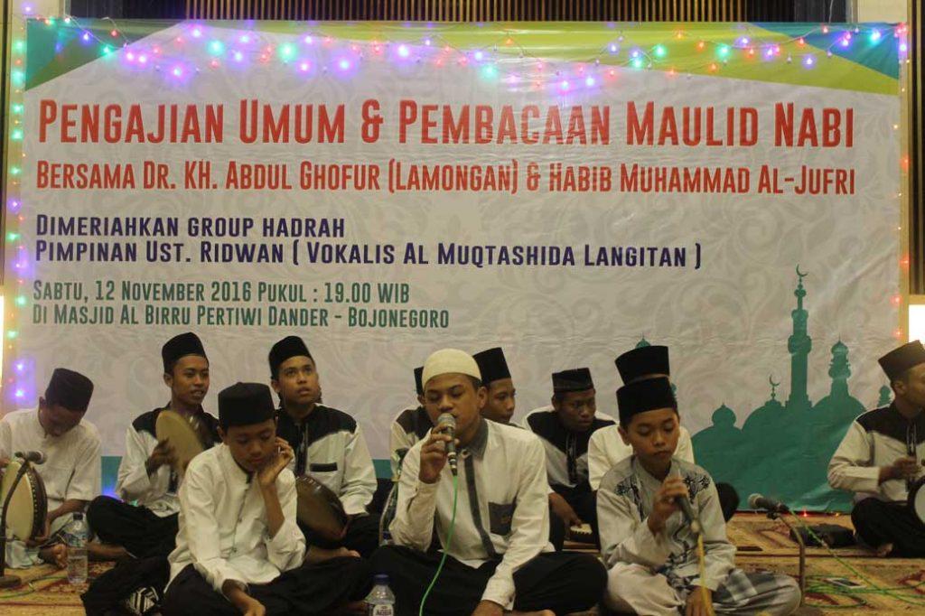 Penampilan Group Hadrah Masjid al-Birru Pertiwi